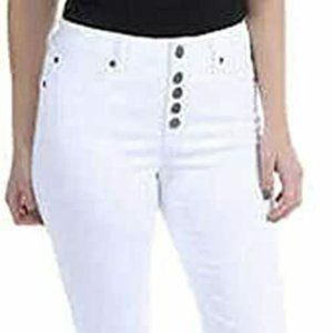 NEW Kenneth Cole Ladies' Button Fly Straight Leg